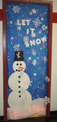 Decatur Community Schools - Rudolph wins door-decorating ...