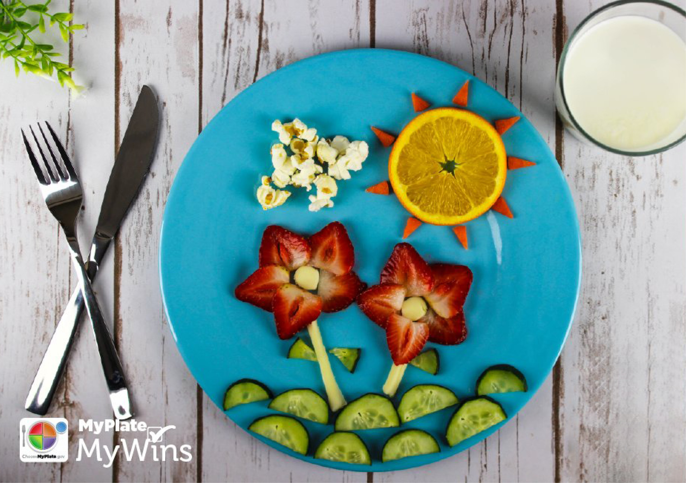 Spring Food Fun For Kids With Myplate S Food Groups