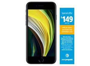 AT&T prepaid Apple iPhone SE