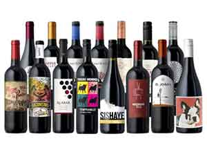 15-Pack of Reds from Splash Wines