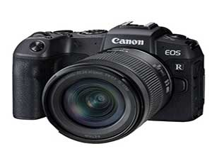 Canon EOS RP Mirrorless Camera with RF 24