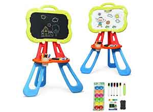 4 in 1 Double Sided Magnetic Kids Art Easel