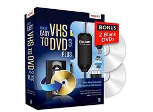 VHS Hi8 V8 Video to DVD or Digital Converter