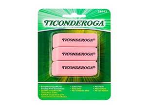 Ticonderoga Block Eraser
