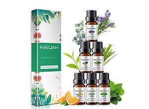 100% Pure Therapeutic Aromatherapy Oils