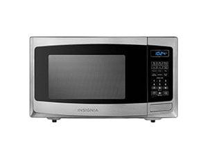 Insignia 0.9 Cu. Ft. Compact Microwave