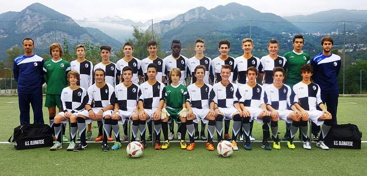 Olginatese - La formazione dei Giovanissimi Regionali 2000 allenata da Luca Cavalli
