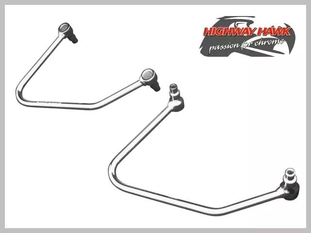 Paire Supports Écarteurs Sacoches Yamaha Custom XVS 125
