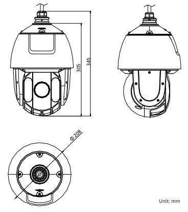 Hikvision DS-2DE5225IW-AE 2MP 25x PTZ Camera ¦ use-IP Ltd