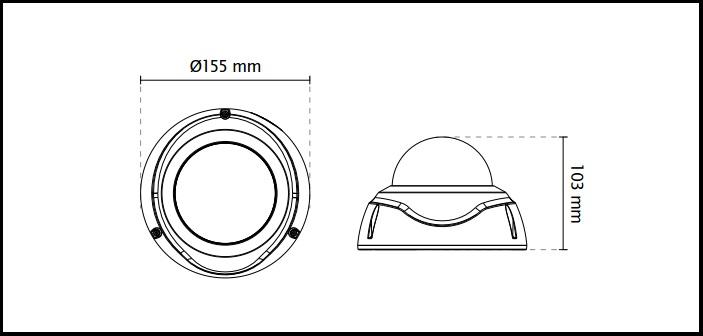 Vivotek FD8382-TV Fixed Dome Network Camera ¦ use-IP Ltd