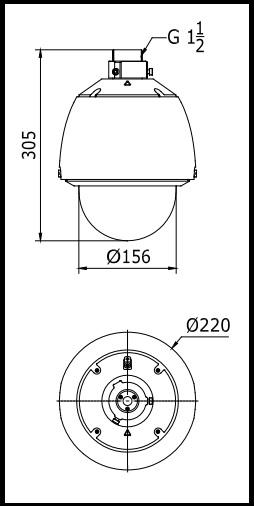 Hikvision DS-2DE5184-A 2MP Network PTZ Dome Camera ¦ use