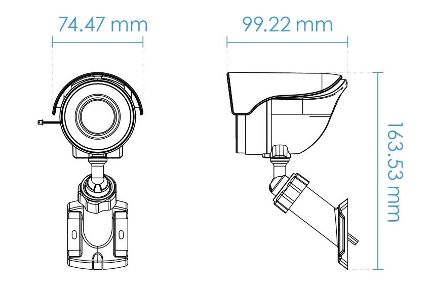 Vivotek IB8360-W 2MP Wireless Mini Bullet Network Camera