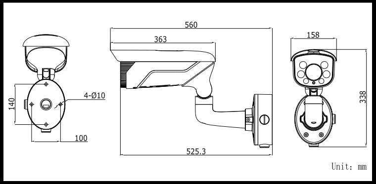 Hikvision DS-2CD4625FWD-IZS 2MP Vandalproof IR Bullet