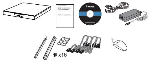 Vivotek ND9541 32 Channel Embedded Network Video Recorder