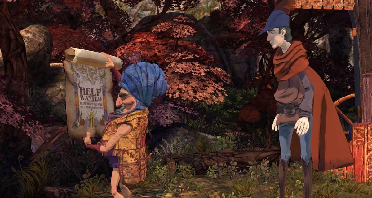 E3 2015 – New trailer released for King's Quest, releasing this July