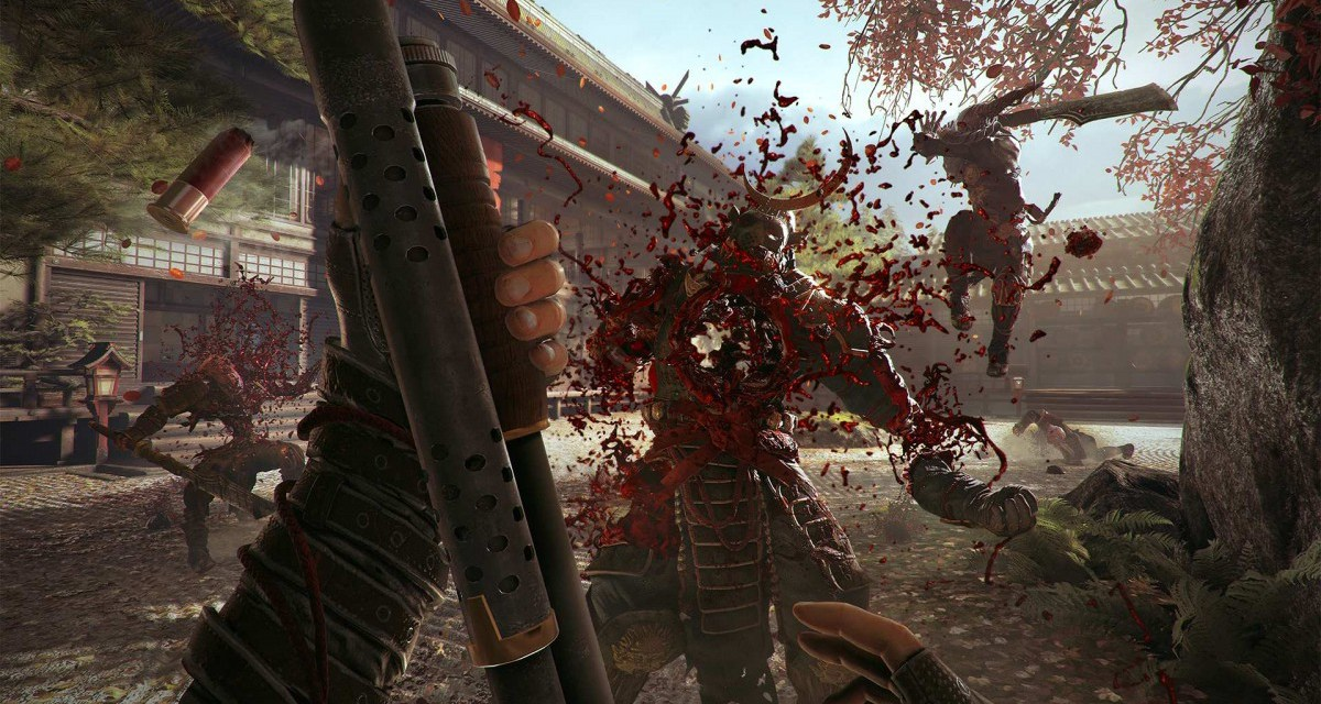 15 minutes of blood-soaked Shadow Warrior 2 gameplay revealed