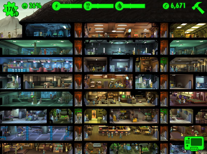 E3 2015 – Fallout Shelter revealed for iOS, out now