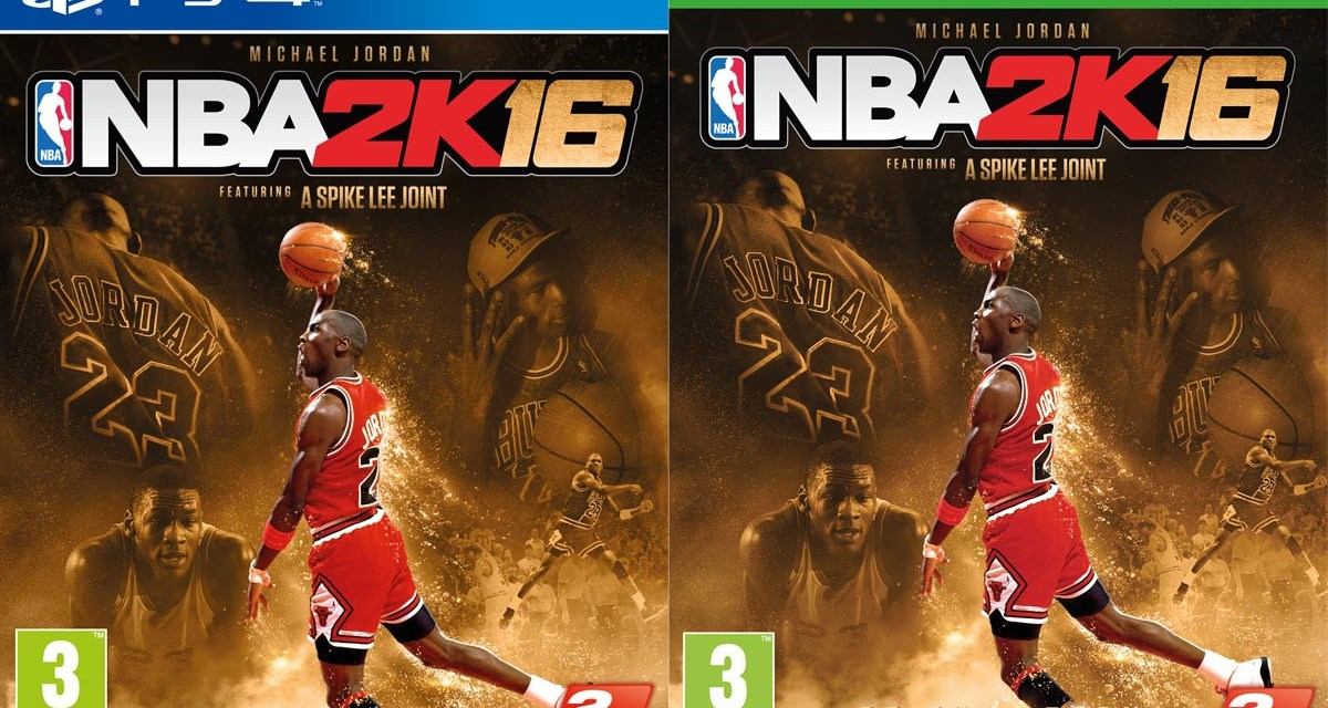 Basketball superstar Michael Jordan gracing the front cover of NBA 2K16's Special Edition