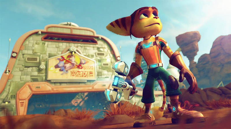 Sony release first look at Ratchet And Clank on Playstation 4