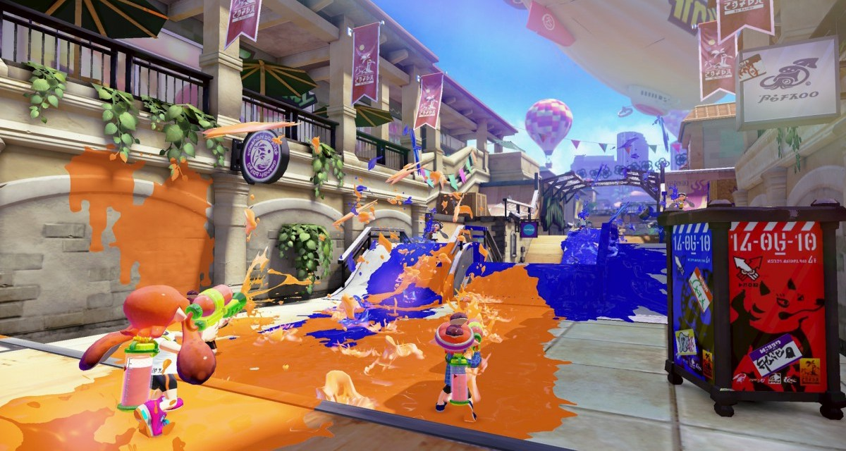 New DLC released for Splatoon – ranked battles and Splat Zones also unlocked