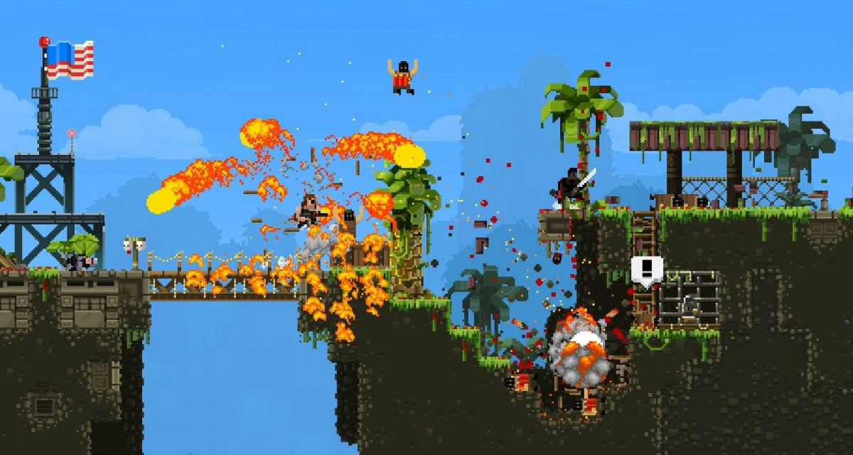 Broforce is breaking free from early access and officially launching October 15th