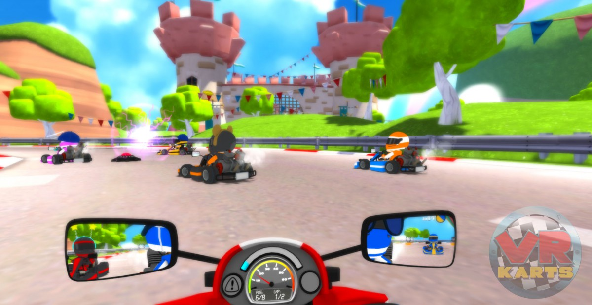 Hit the track in VR Karts, out now on Oculus Rift