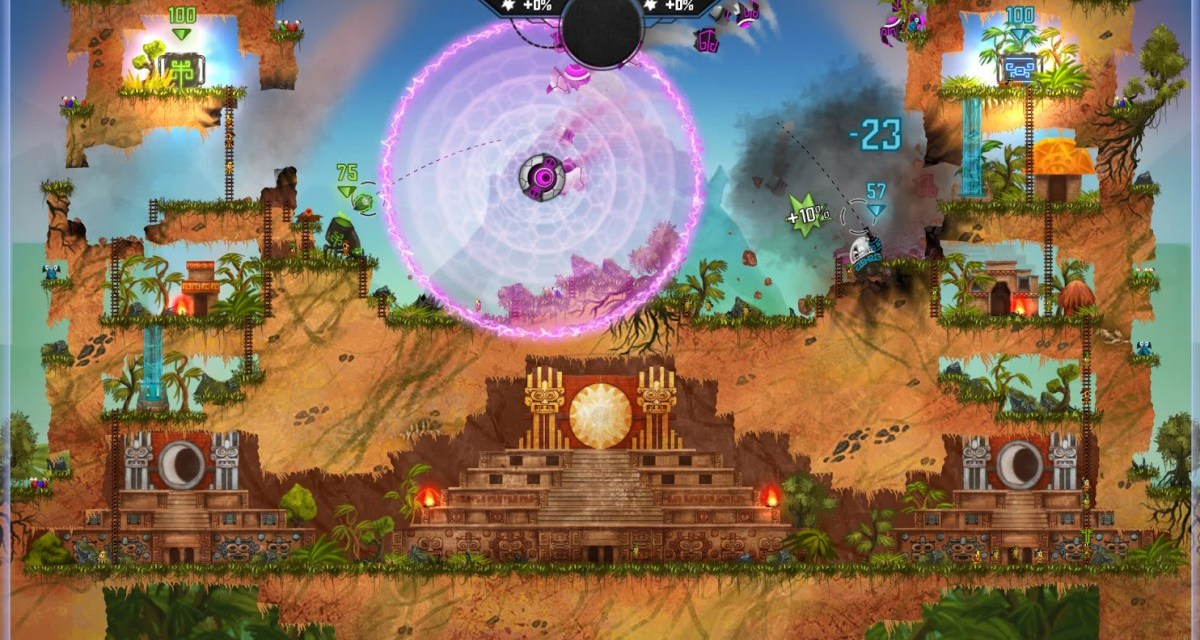 PVP robotic battler Mayan Death Robots now available on Steam