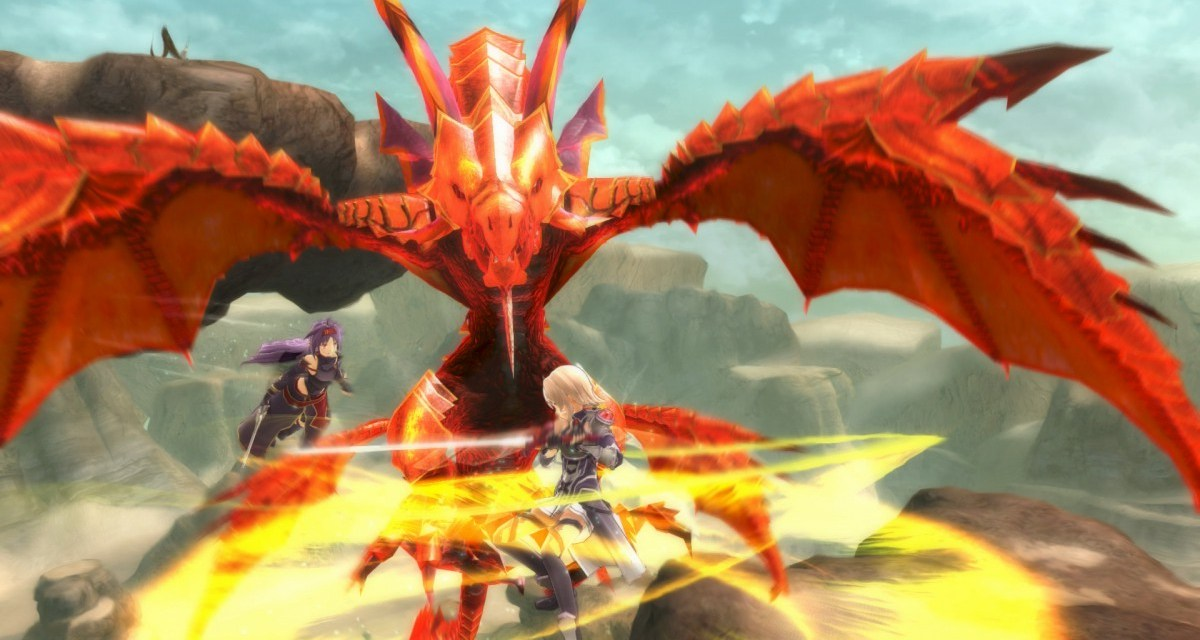 Sword Art Online: Lost Song launches on Playstation 4 and Playstation Vita today
