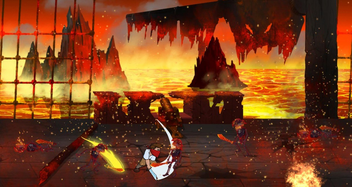 Side scrolling pirate beat 'em up FL337 hits Steam Early Access next week