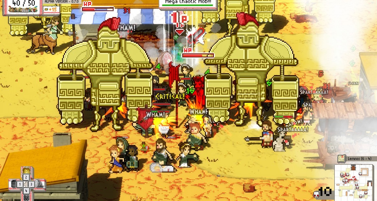 New gameplay trailer released for anarchic Greek mob title Okhlos – arriving on PC in March