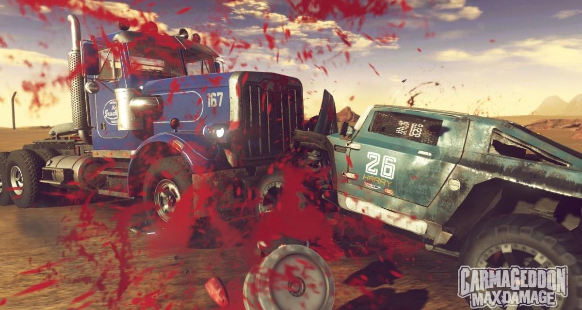 Carmageddon: Max Damage smashing its way onto consoles mid-2016
