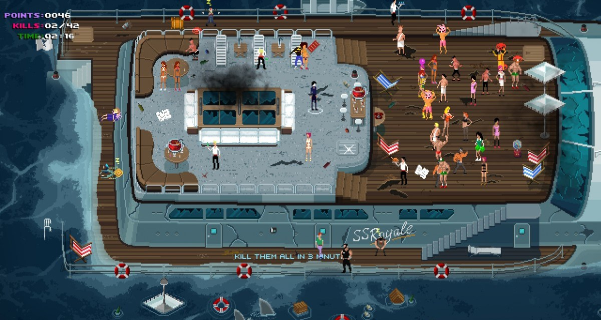 Crash the party with Party Hard – coming to consoles next week