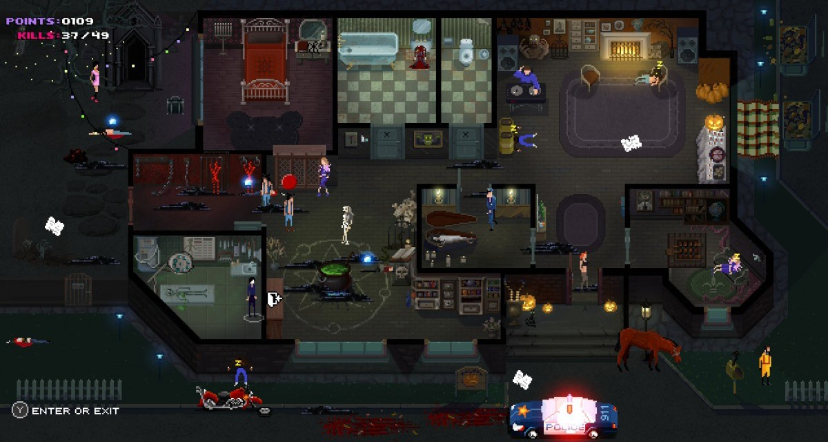 Kill the party with Party Hard – available today on Playstation 4 and Xbox One