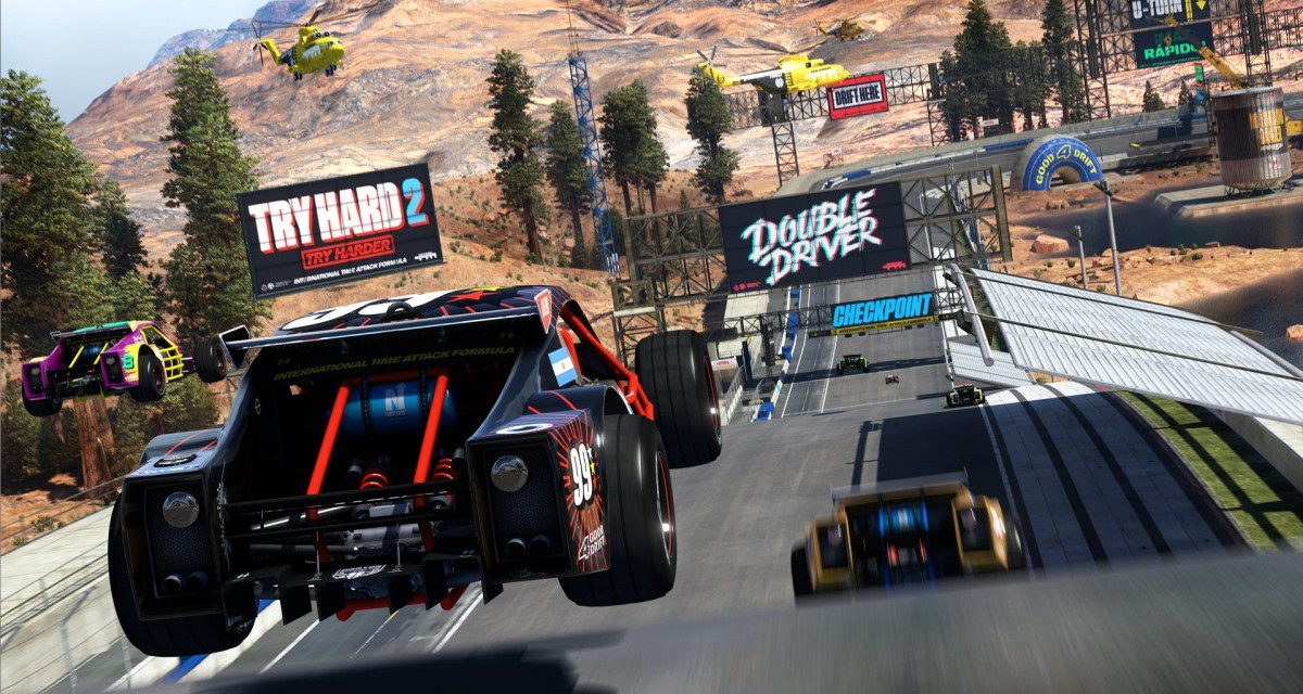 New trailer for Trackmania Turbo shows off the insane multiplayer modes