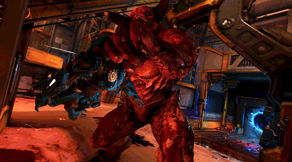 Playable Demons, power weapons and power-ups revealed for DOOM