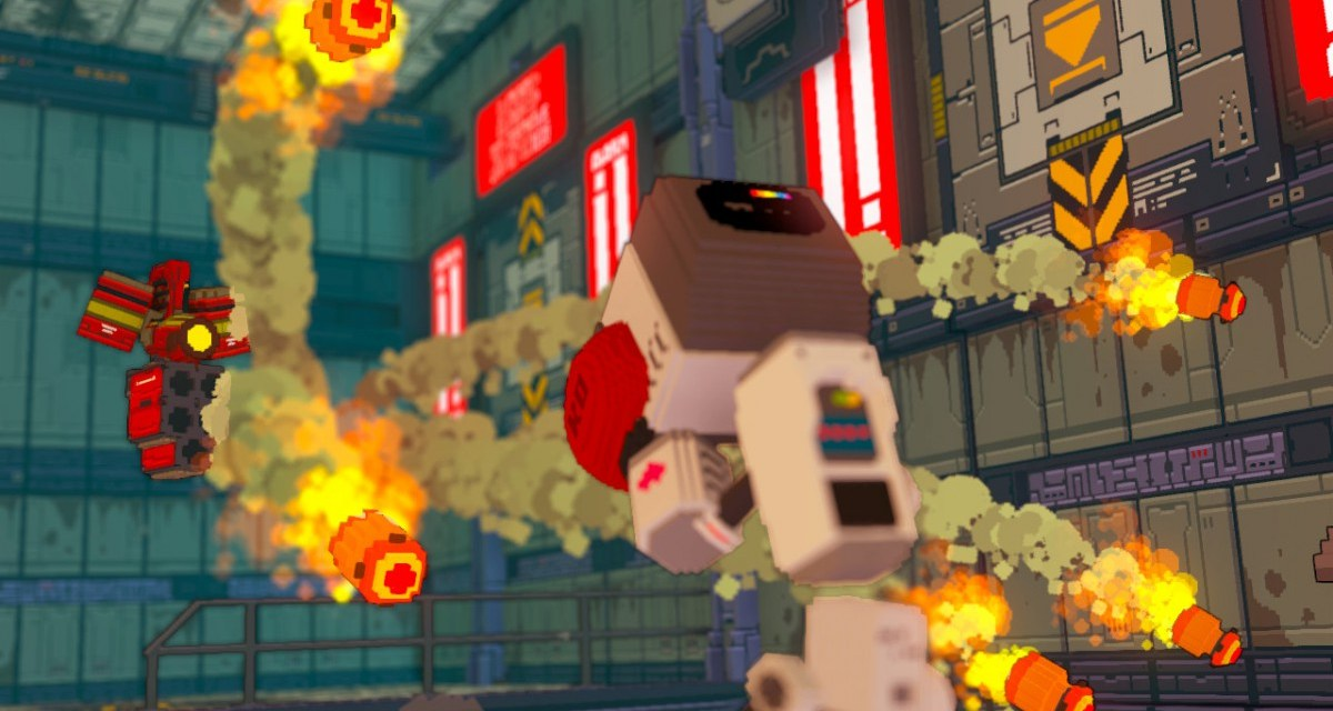 3D robot brawler Heart&Slash coming to PC and consoles in Q2 2016
