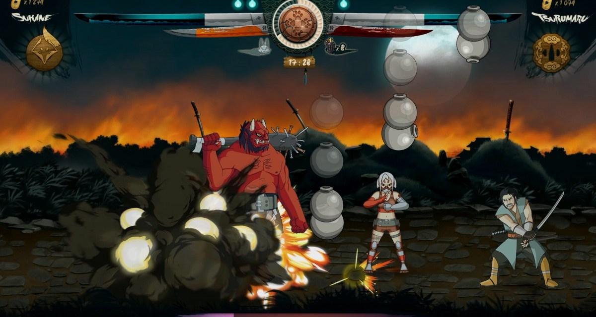 Hand drawn 2D beat 'em up Samurai Riot hits Steam Greenlight