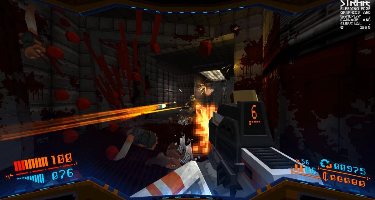 Return to 1996 with blood-soaked FPS STRAFE – coming early 2017