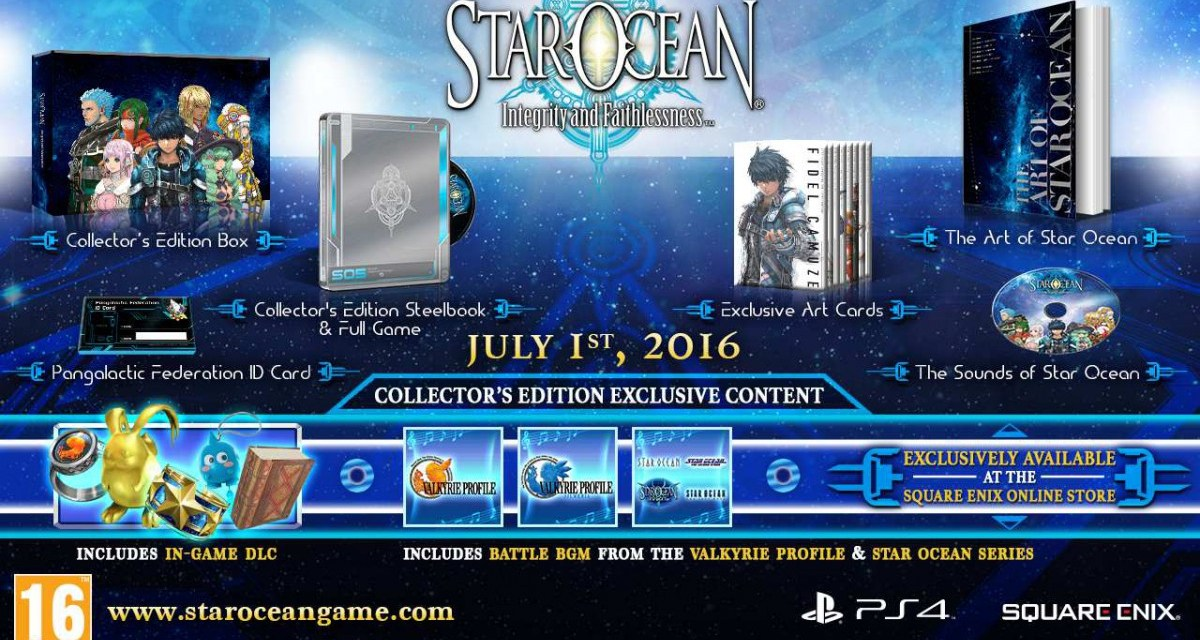 STAR OCEAN: Integrity and Faithlessness gets a European release this July
