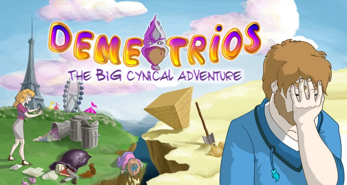 Point and click adventure Demetrios: The BIG Cynical Adventure launches in May