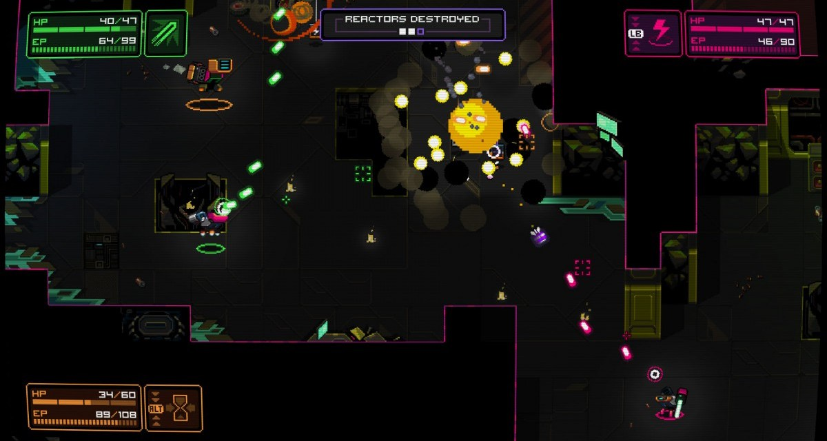 Twin stick shooter NeuroVoider now available on Steam with Early Access