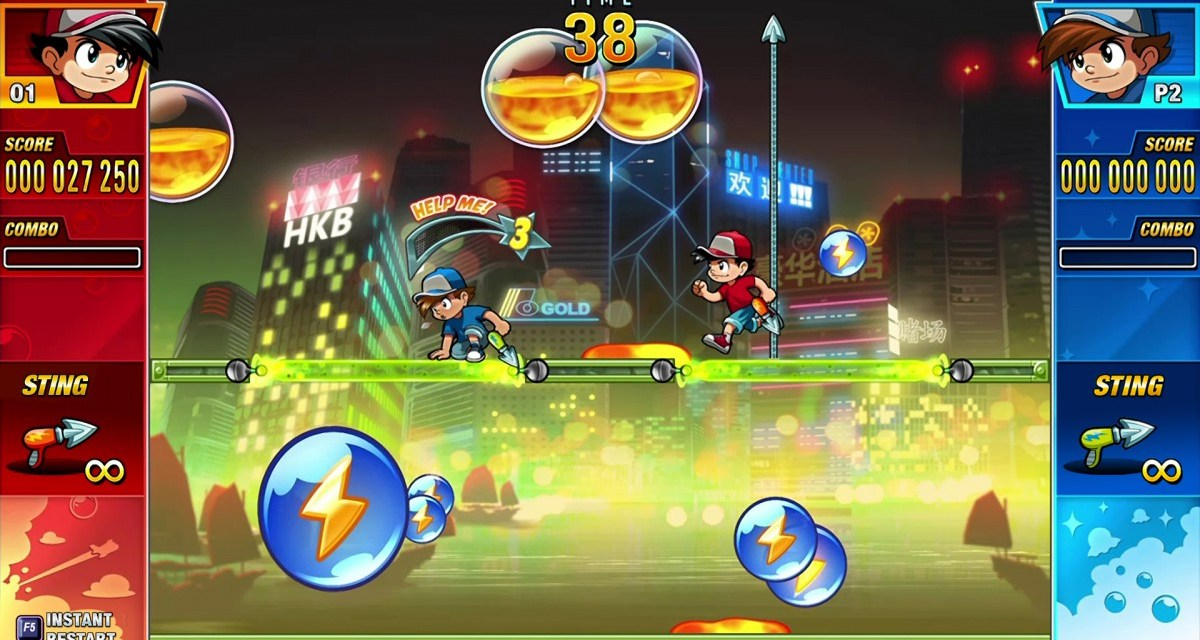 Bust some balls with Pang Adventures – now available on PC, console and mobile devices