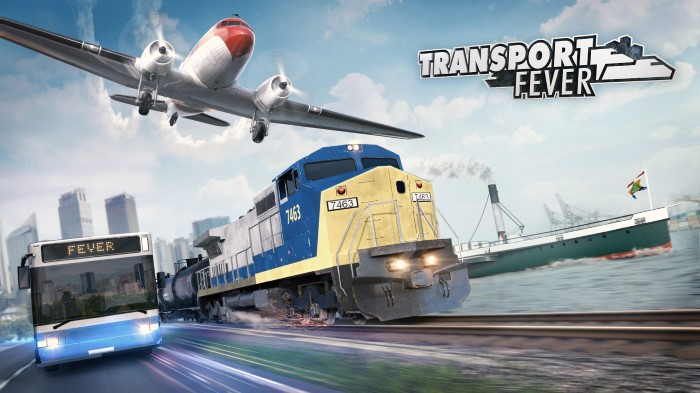 Shape the history of transportation in Transport Fever, coming to PC later this year