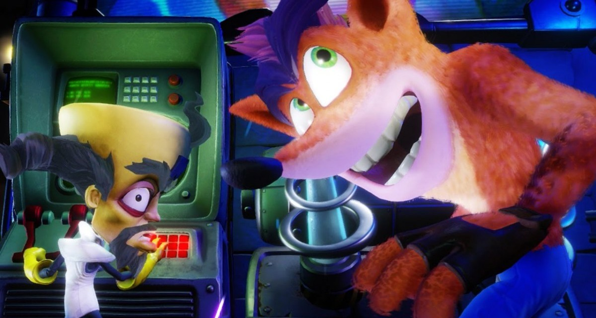 NEWS: Crash Bandicoot N. Sane Trilogy is out today on the Nintendo Switch, Xbox One and PC