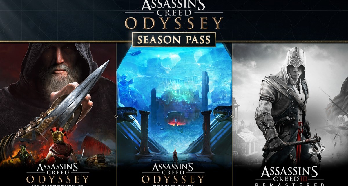 Assassin's Creed Odyssey's Season Pass includes Assassin's Creed III Remastered and more