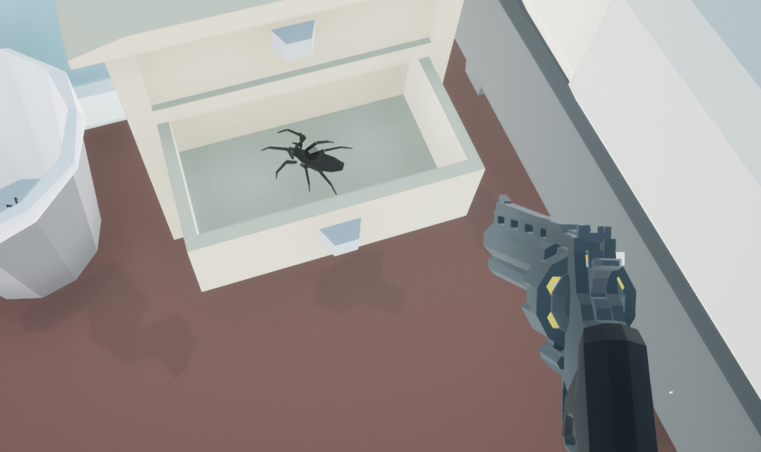 Go on a spider-hunting spree when Kill it With Fire launches next month