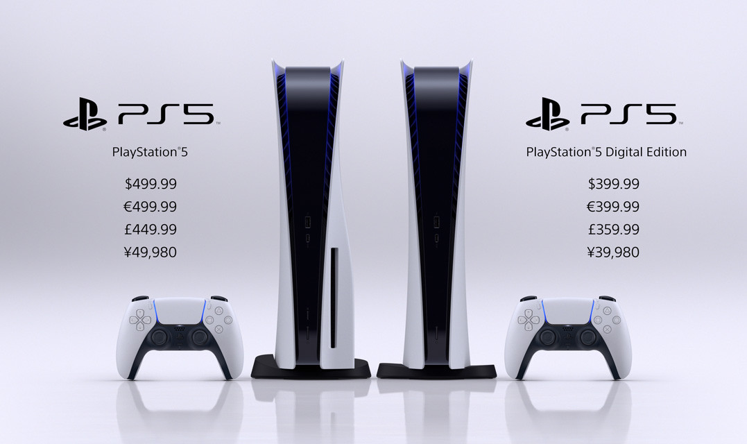 The PlayStation 5 is launching November 19th for £449.99, Digital Edition is £359.99