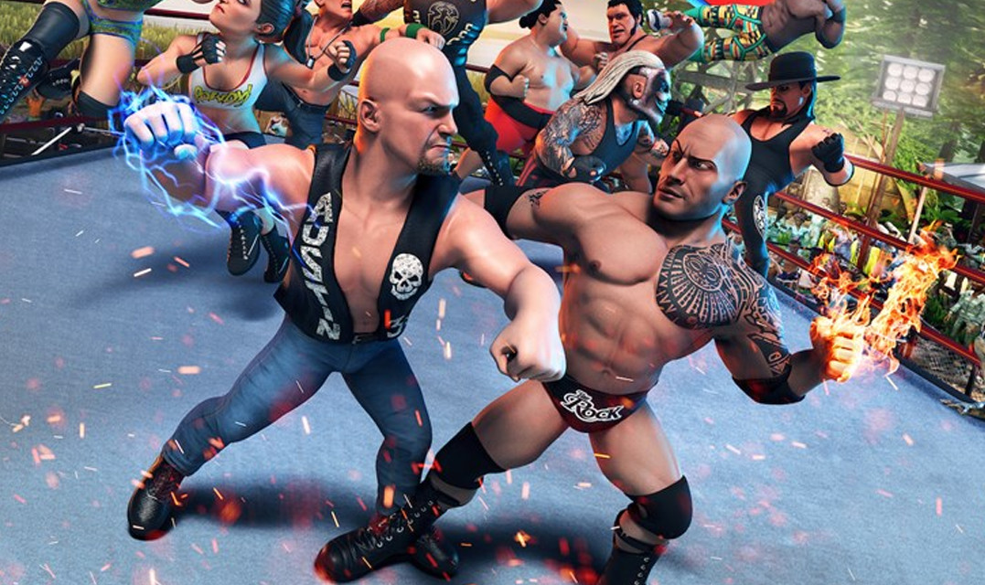 WWE 2K Battlegrounds launches today on PC and consoles