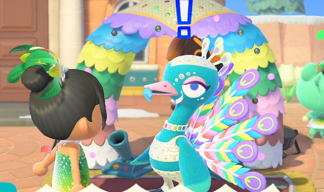 Animal Crossing: New Horizon's 'Festivale Update' brings colourful dancing fun to your island