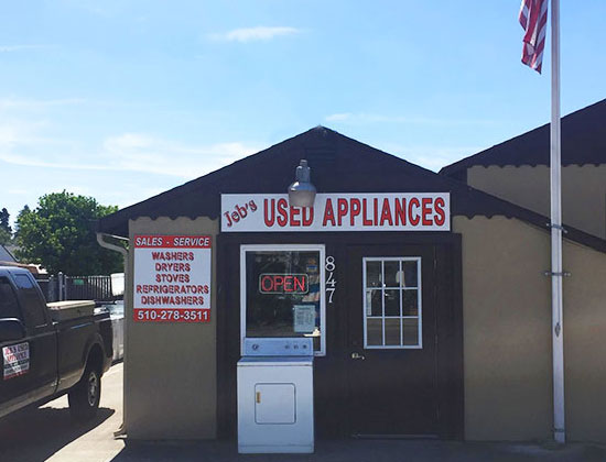 Jeb S Appliance Repair Hayward San Leandro Used Appliance